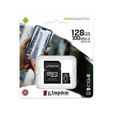 128GB micSDHC Canvas Select Plus 100R A1 C10