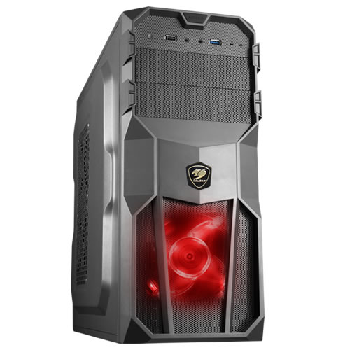 MX200 CASE MID TOWER 1XUSB3.0; 1XUSB2.0