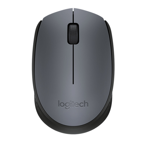 WIRELESS MOUSE M170 GREY OPTICAL USB
