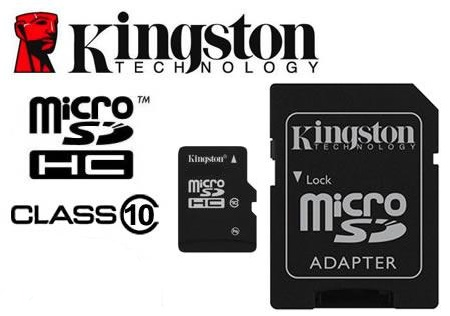 Micro SD 64Gb Kingstone CL10